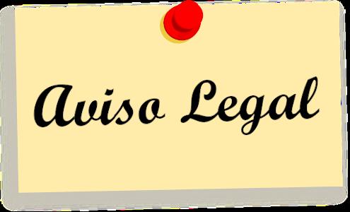 Aviso Legal Academia ALF